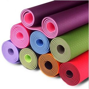 Exercise Mat with Carrying Strap-Workout Mat For Yoga